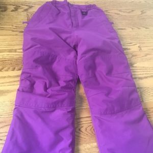 Lands End Squall 6 Purple Ski Snow Board Pants